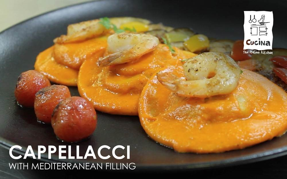 AllandAbout Chef's Special: Cappellacci with Mediterranean Filling