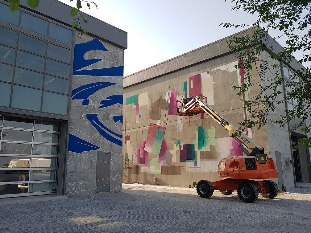 German Street Artists To Paint Walls At Doha Fire Station Part 95