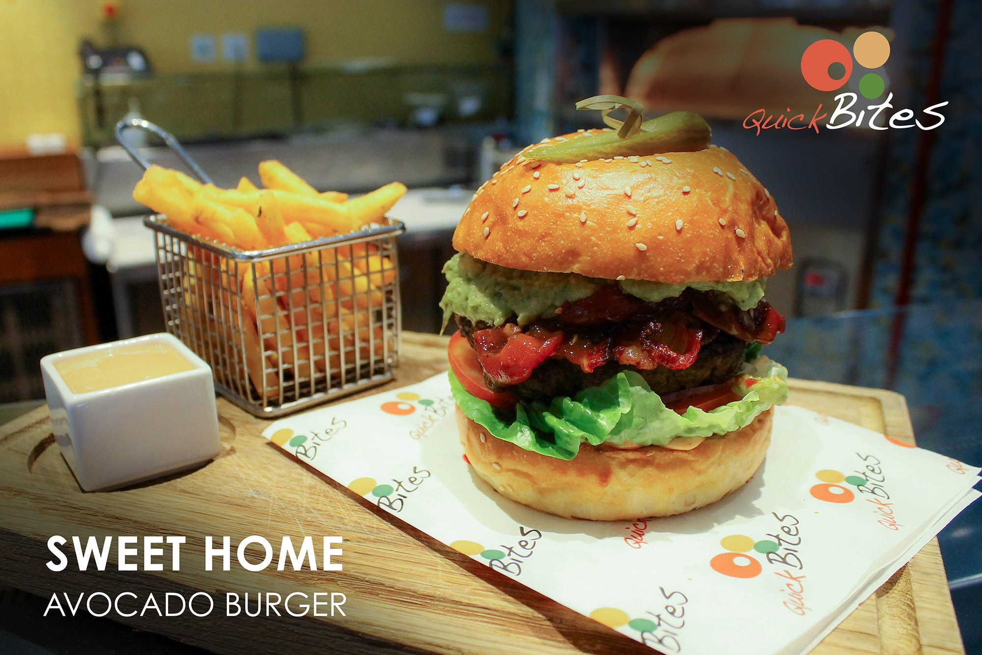 AllandAbout Chef's Special: Sweet Avocado Burger