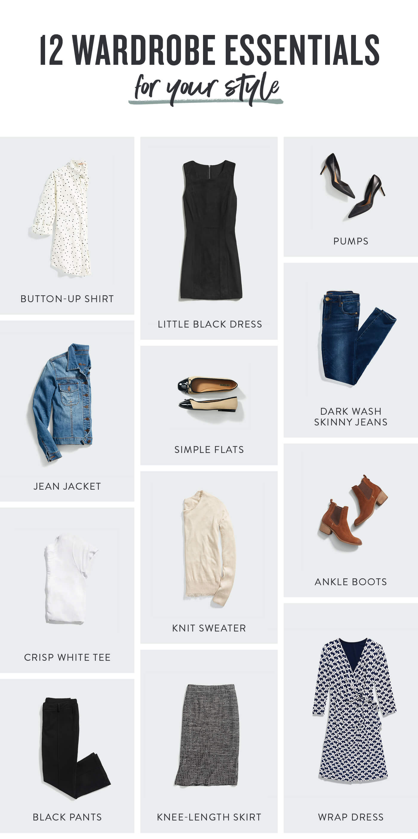 Must Have Wardrobe Essentials For Every Women