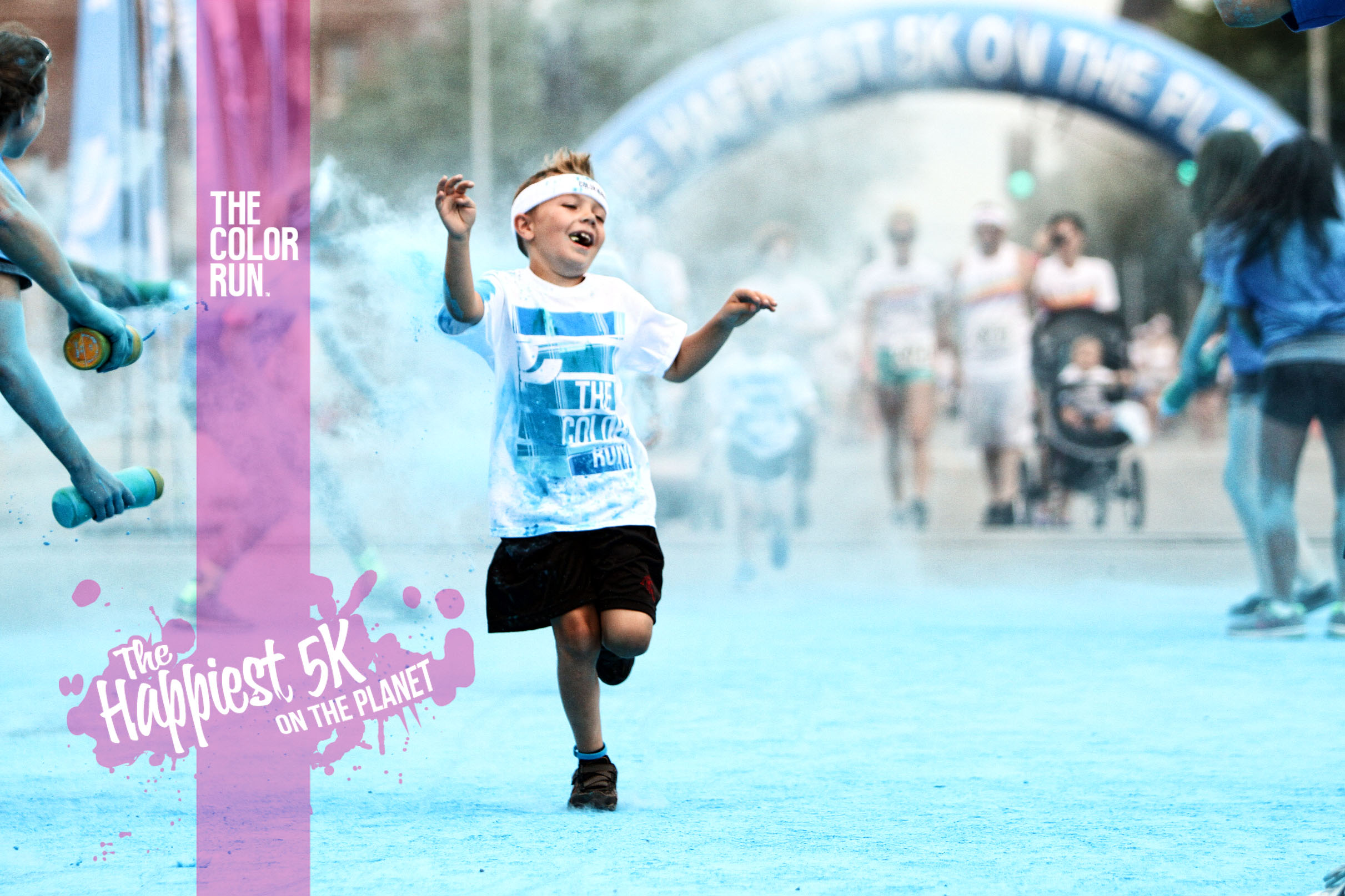 WIN TWO TICKETS TO The Color Run Presented by Sahtak Awalan: Your Health First