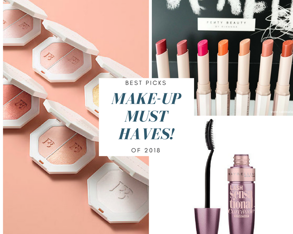 Make-Up Must Haves In 2018