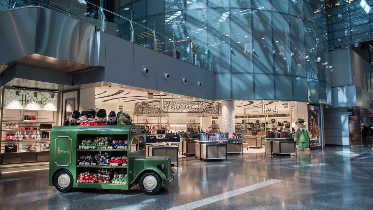 Qatar Duty Free Opens Second Harrods Signature Store at Hamad International Airport (HIA)