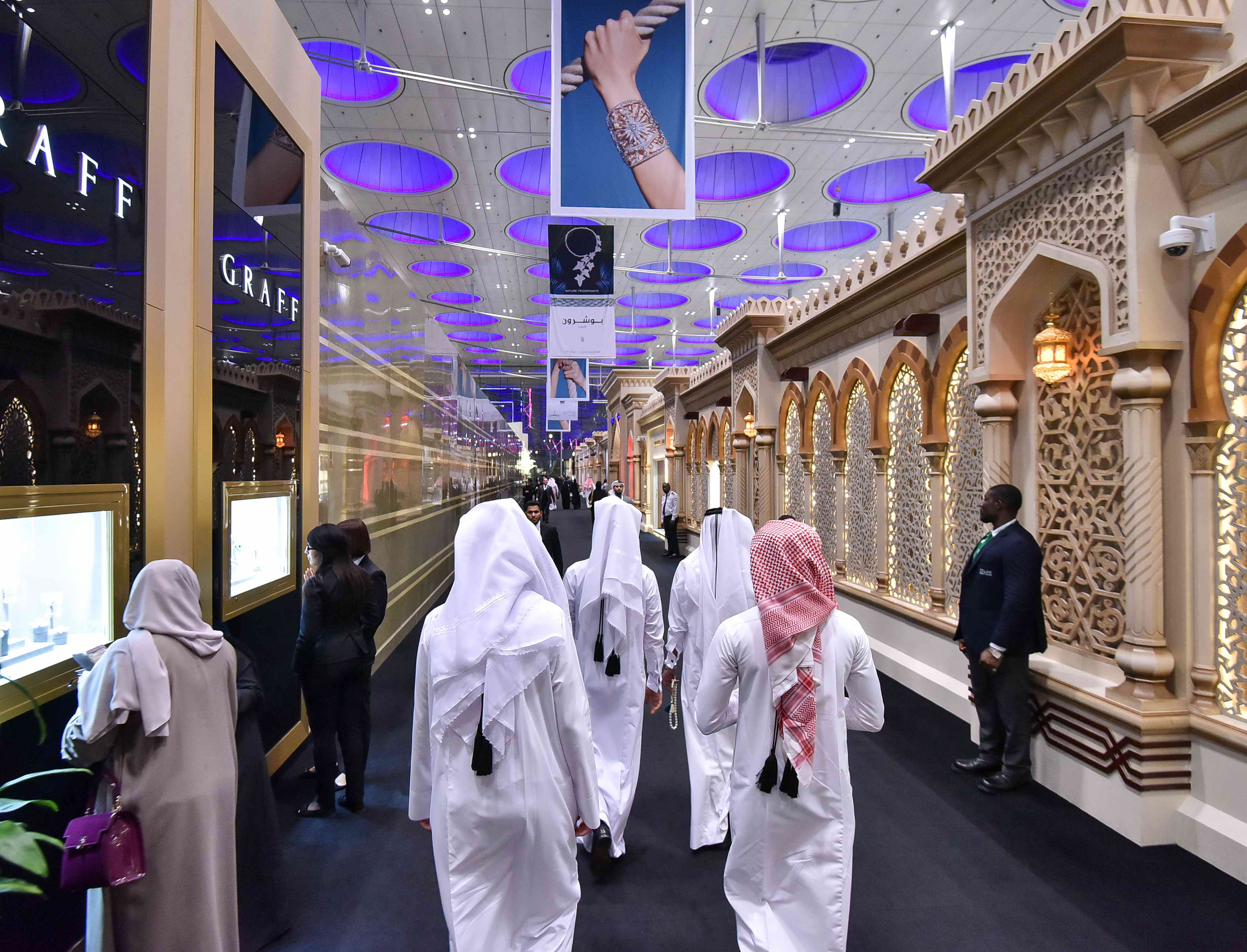 Doha Jewellery and Watches Exhibition 2018 door closes with a remarkable success