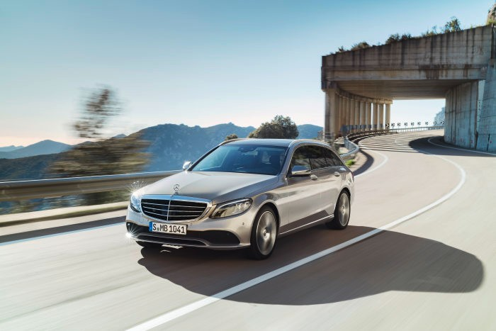 World premiere of the new C-Class Saloon and Estate: Mercedes-Benz Cars at the 2018 Geneva Motor Show