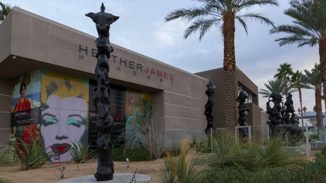Exclusive Herb Alpert Art Exhibit in Palm Desert