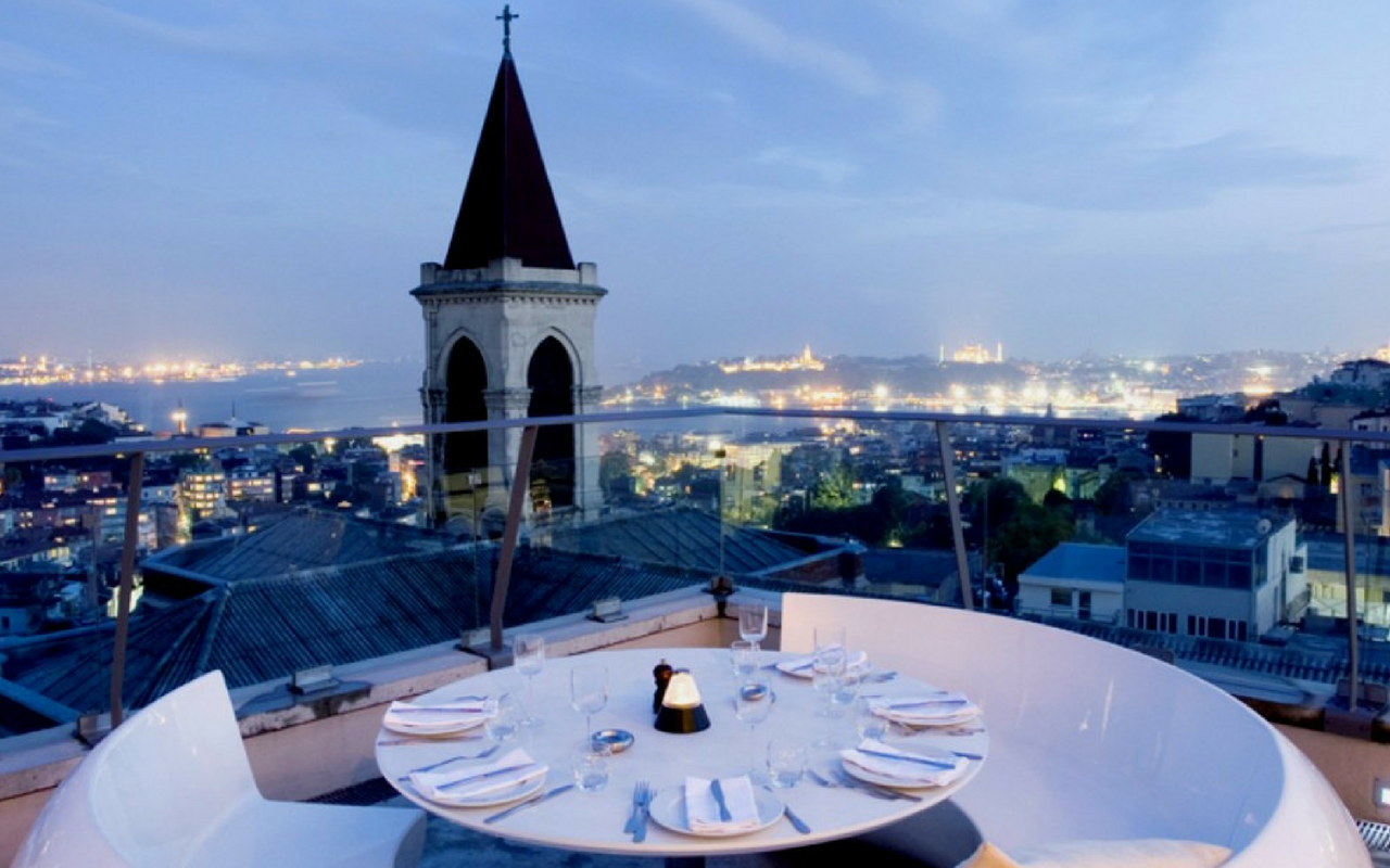 The Best Restaurants with a Rooftop Views