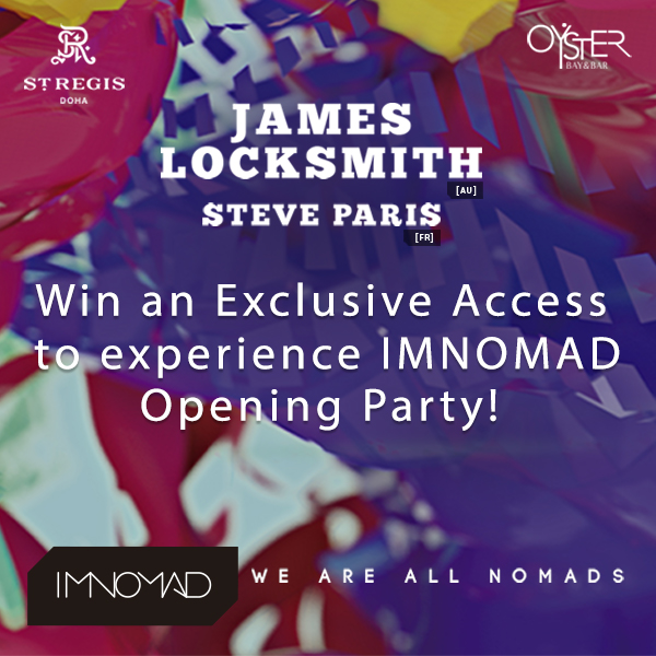 Win An Exclusive Access To Experience IMNOMAD Opening Party