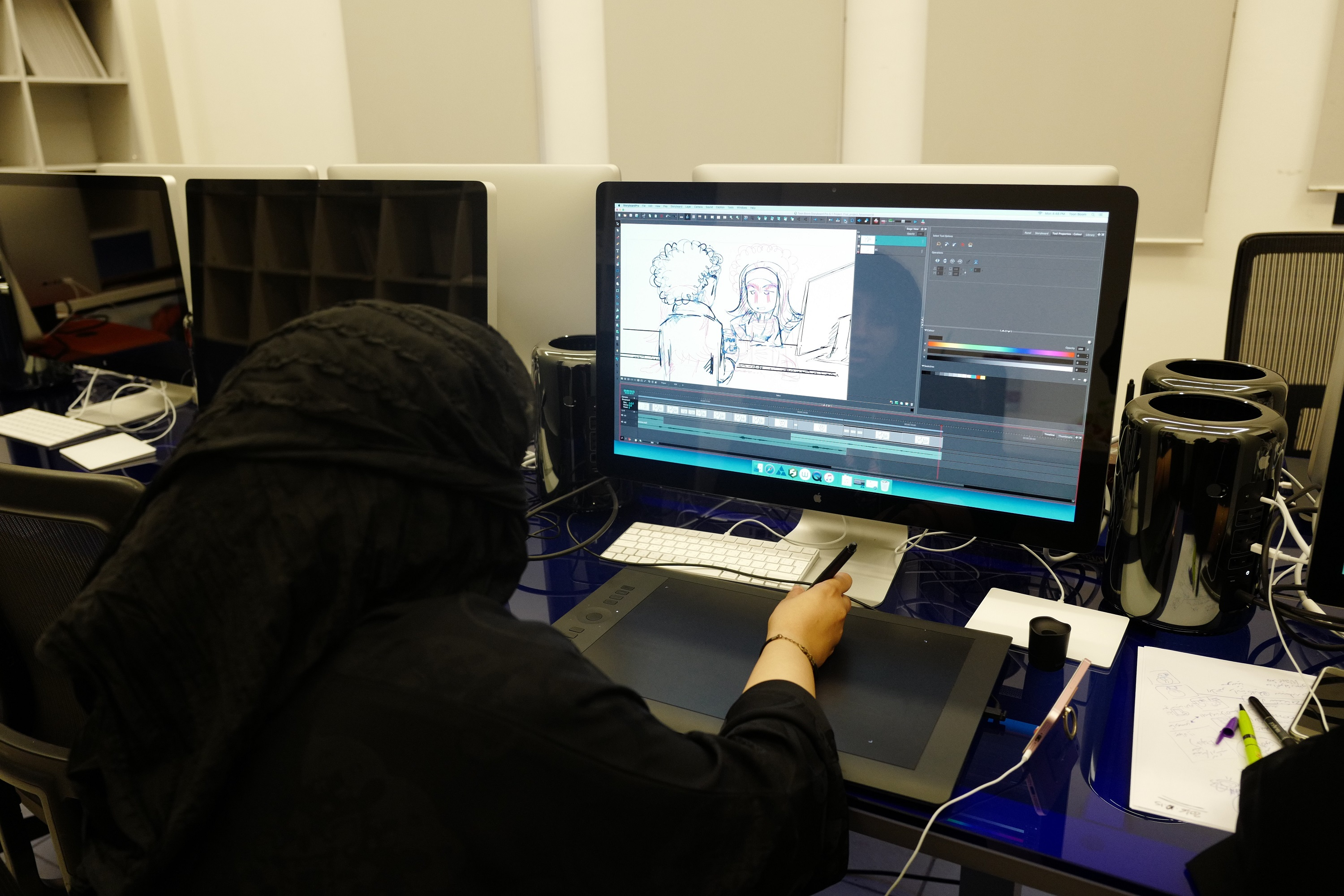 Doha Film Institute Partners with Leading Animation School GOBELINS to Present Workshops in Qatar