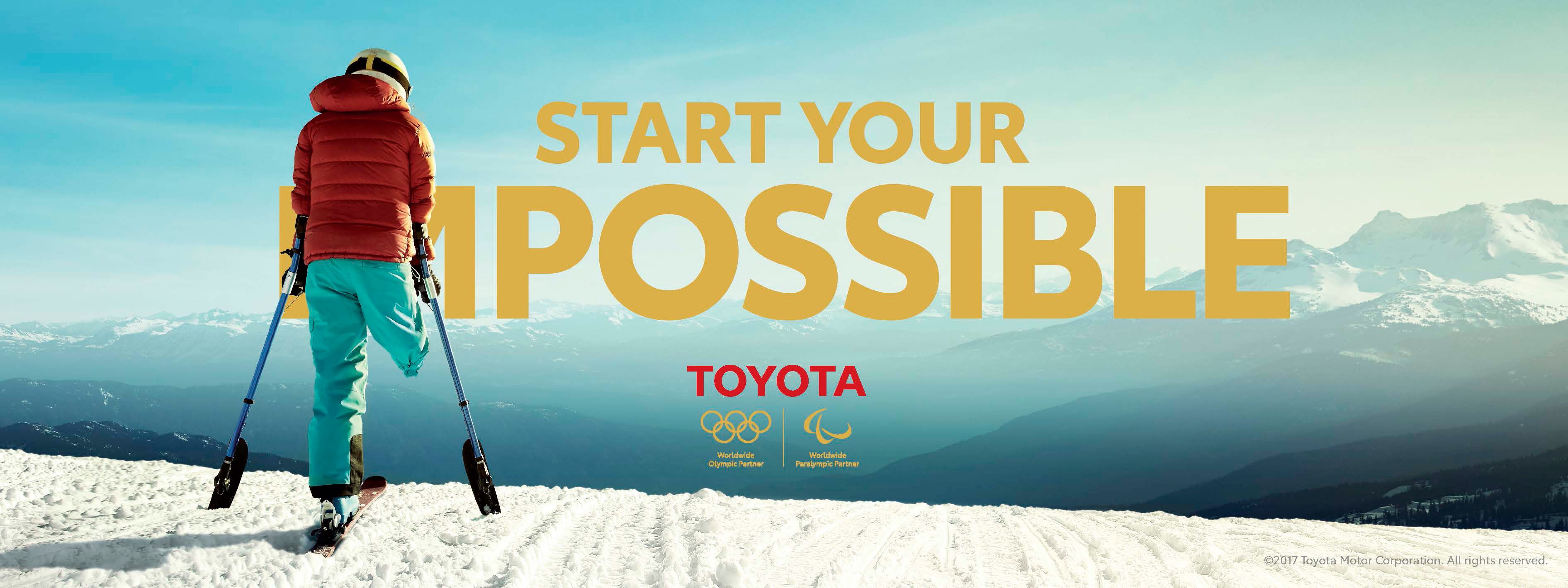 """Team Toyota takes """"Start Your Impossible"""" to global stage at PyeongChang 2018"""