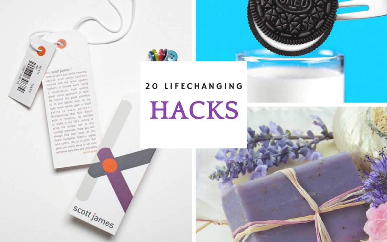 20 Every Day Hacks To Swear by