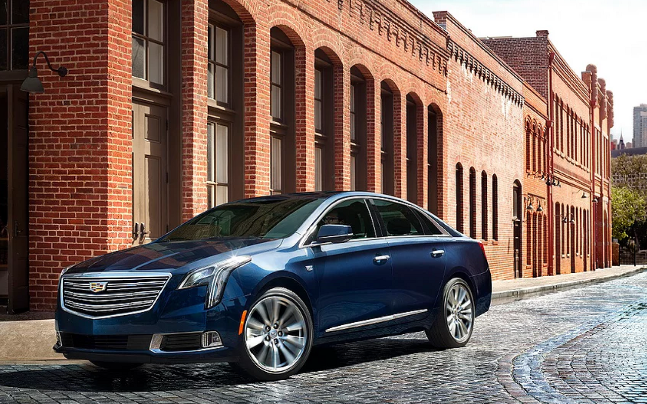 2018 XTS Arrives In The Middle East Featuring Cadillac's New Generation Of Design And Technology