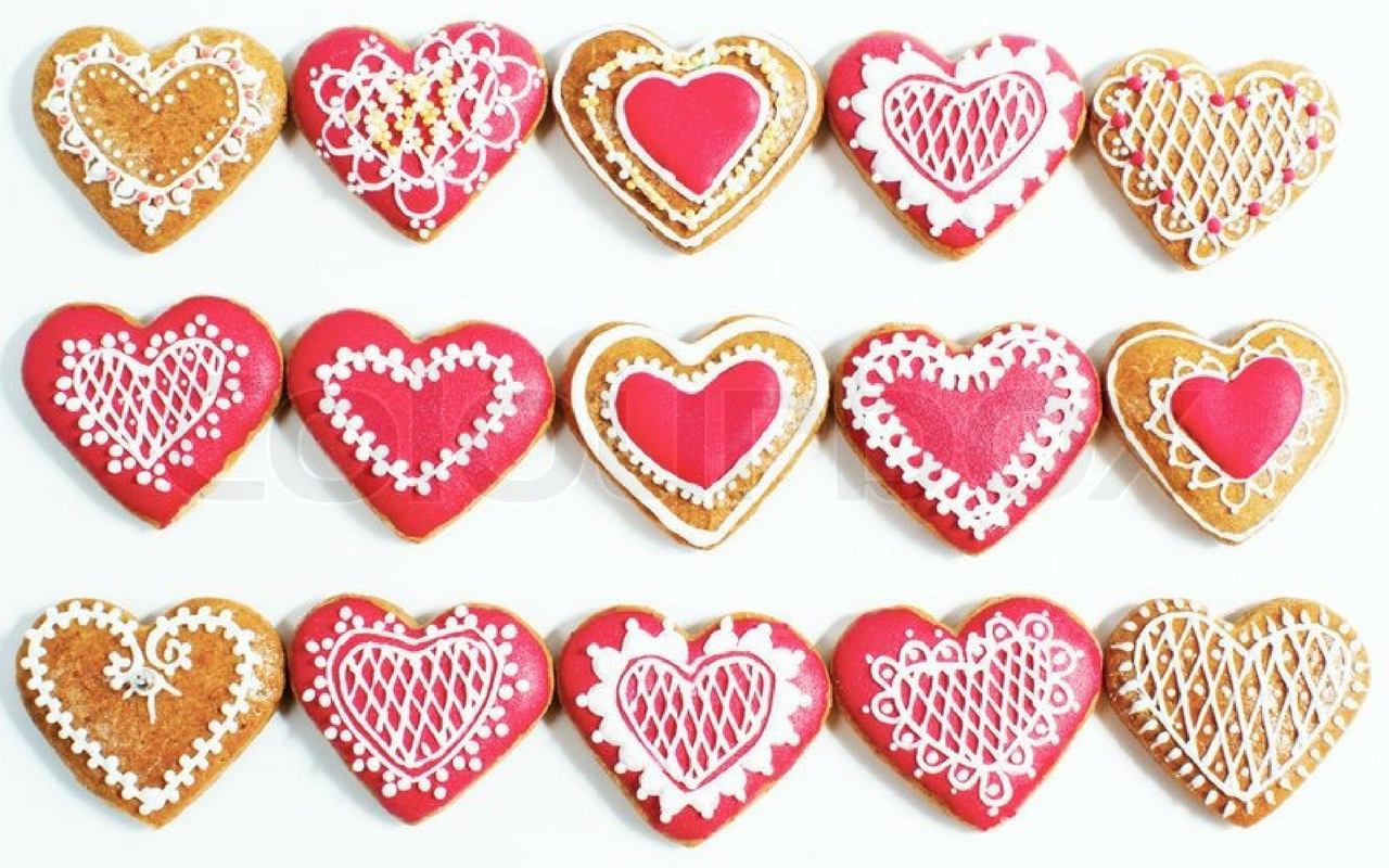 Valentine's Day Special | Sugar Heart Cookies