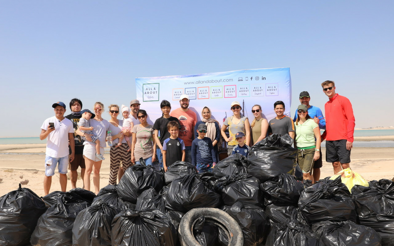 AllandAbout Holds A Successful Beach Cleaning Community Event