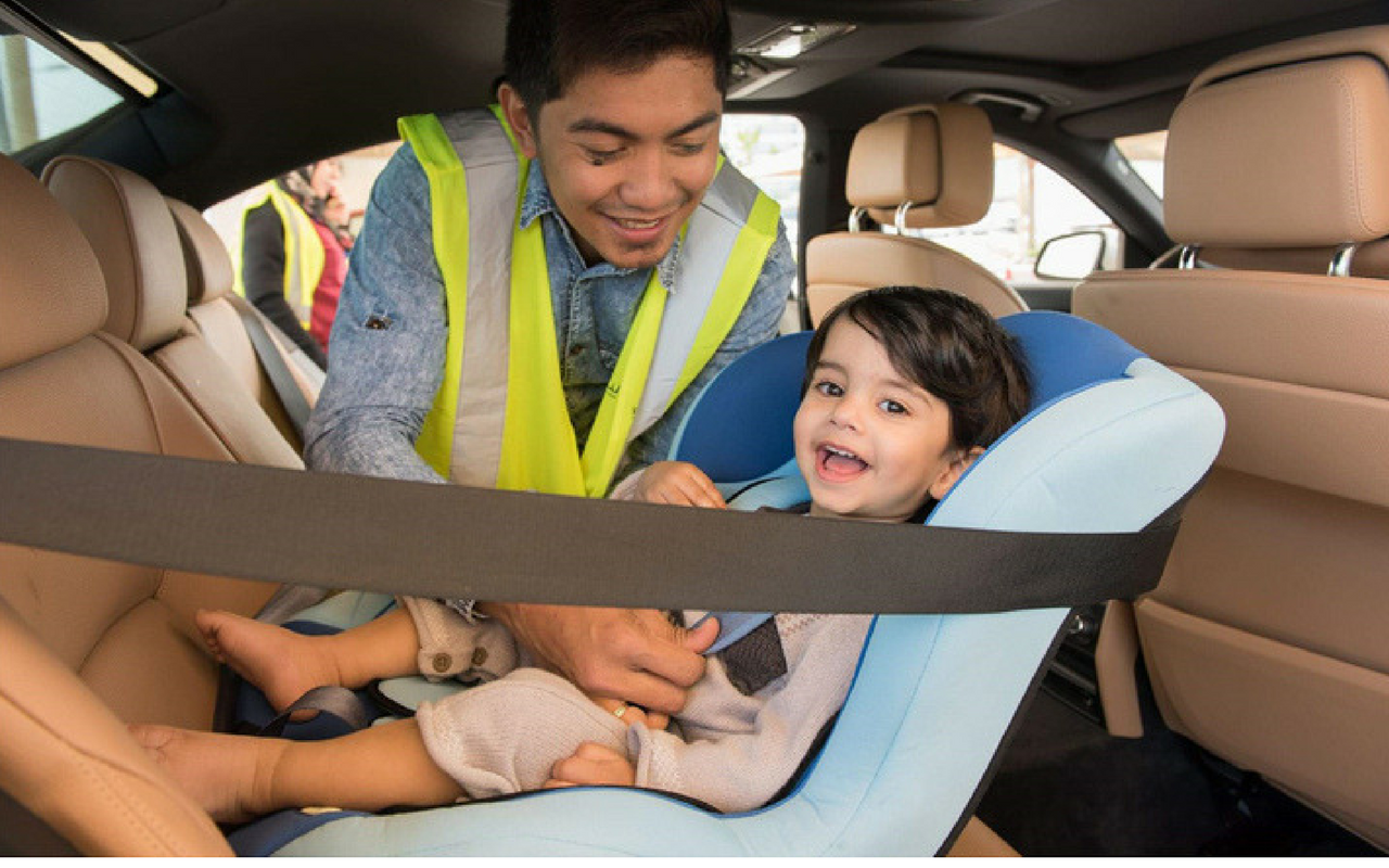 HMC is Working to Increase Public Knowledge of Child Car Seat Safety