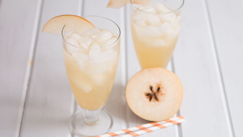 Asian Pear Sparkler Recipe