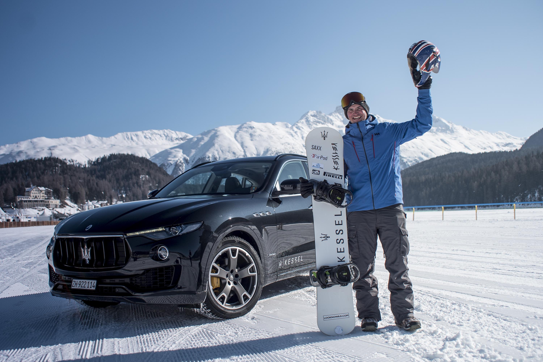 British Snowboard sensation Jamie Barrow breaks