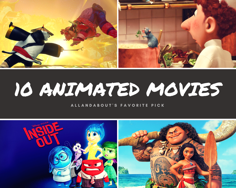 Top Picks | 10 Animated Movies You Will