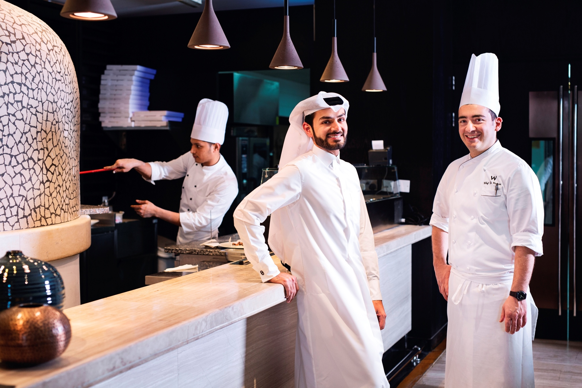 Paper Moon Doha launches exclusive menu with popular Qatari influencer Abdulaziz Al-Ajail & Chef Diego De Rosa