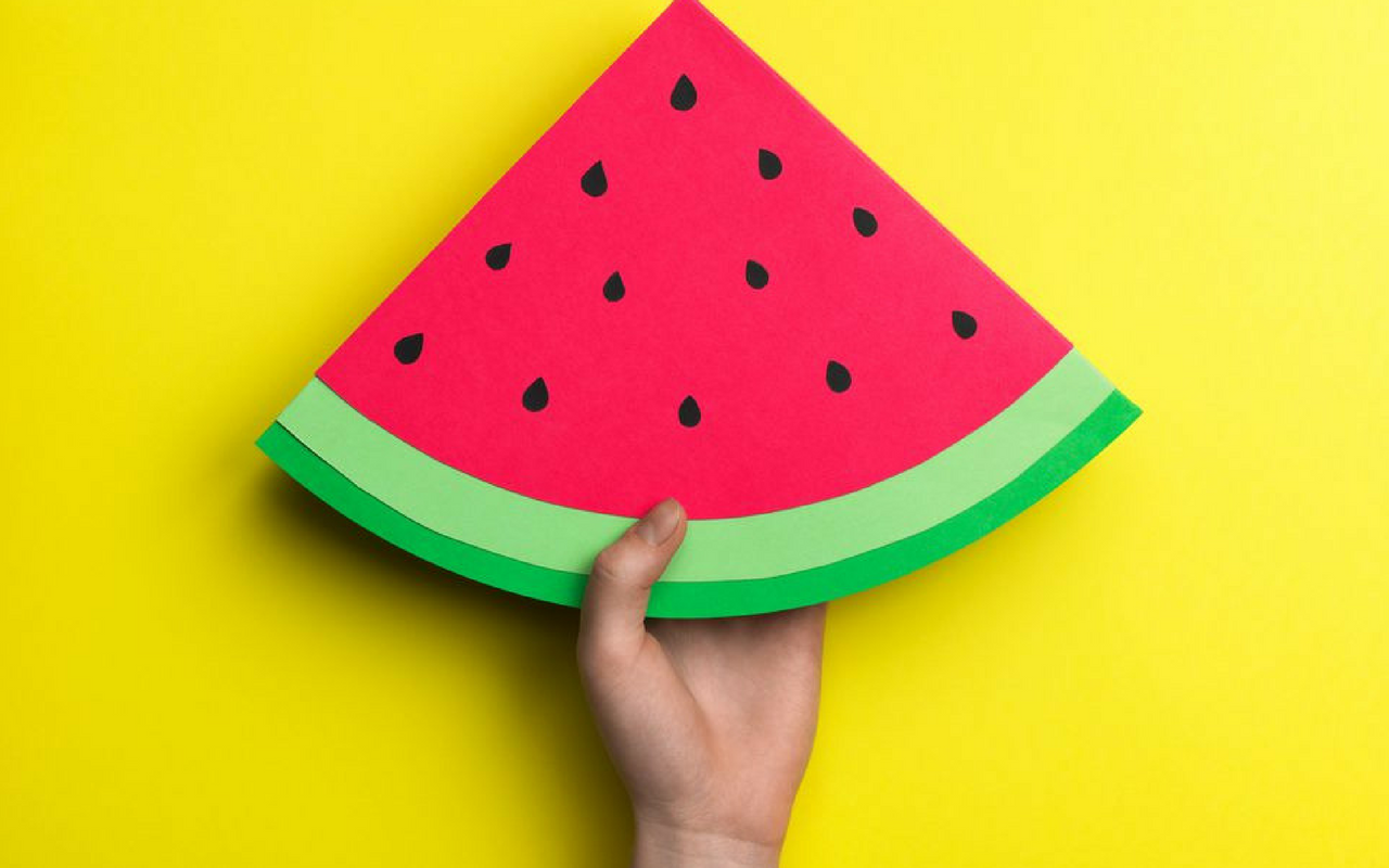 Summer Fruit Crafts for Kids