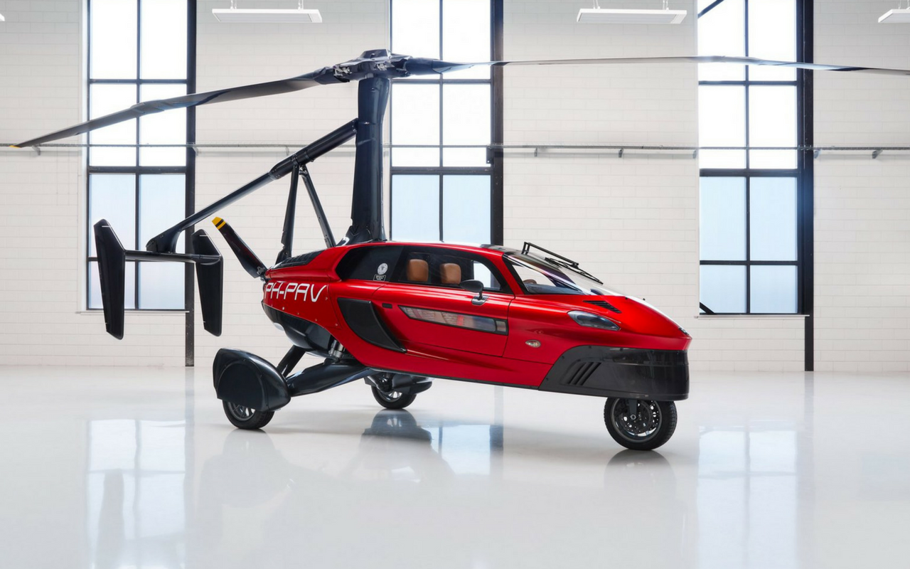 Flying Car Production Model Comes to Life