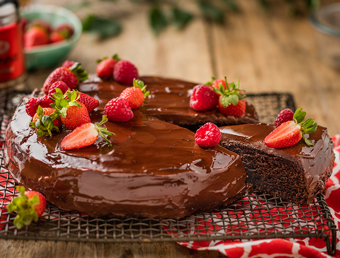Mayonnaise Is The Secret Ingredient In This Chocolate Cake