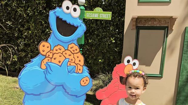 Chrissy Teigen Throws Luna A Sesame Street Birthday Bash