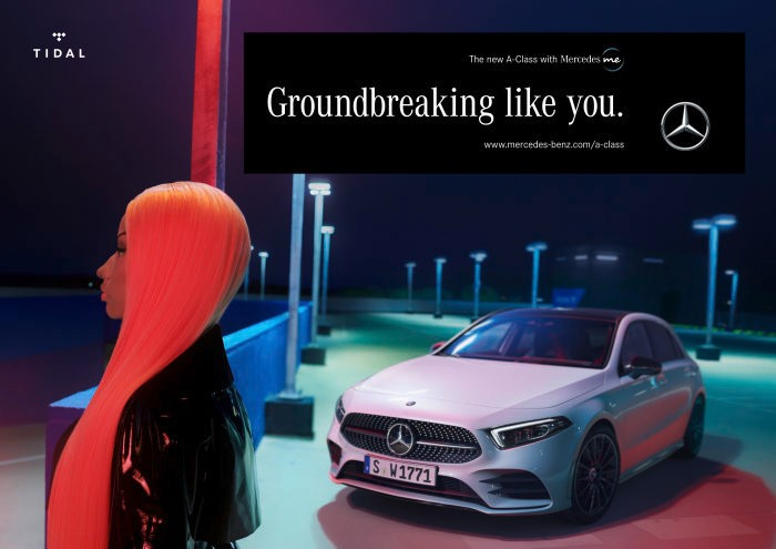 "Mercedes-Benz New A-Class Campaign: 360 Degrees, Two Phases and A Global Star | Nicki Minaj – ""The new A-Class. Just like you."""