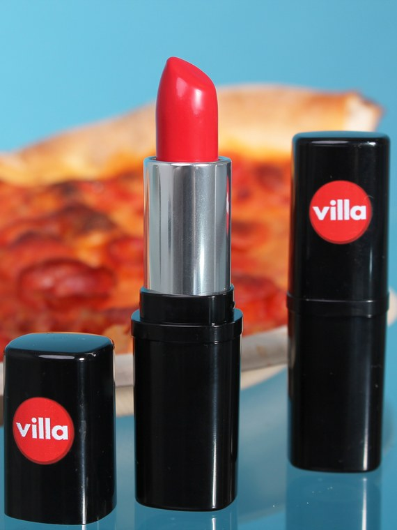 Villa Italian Kitchen Is Giving Away Free Pepperoni Pizza Lipstick for National Kissing Day