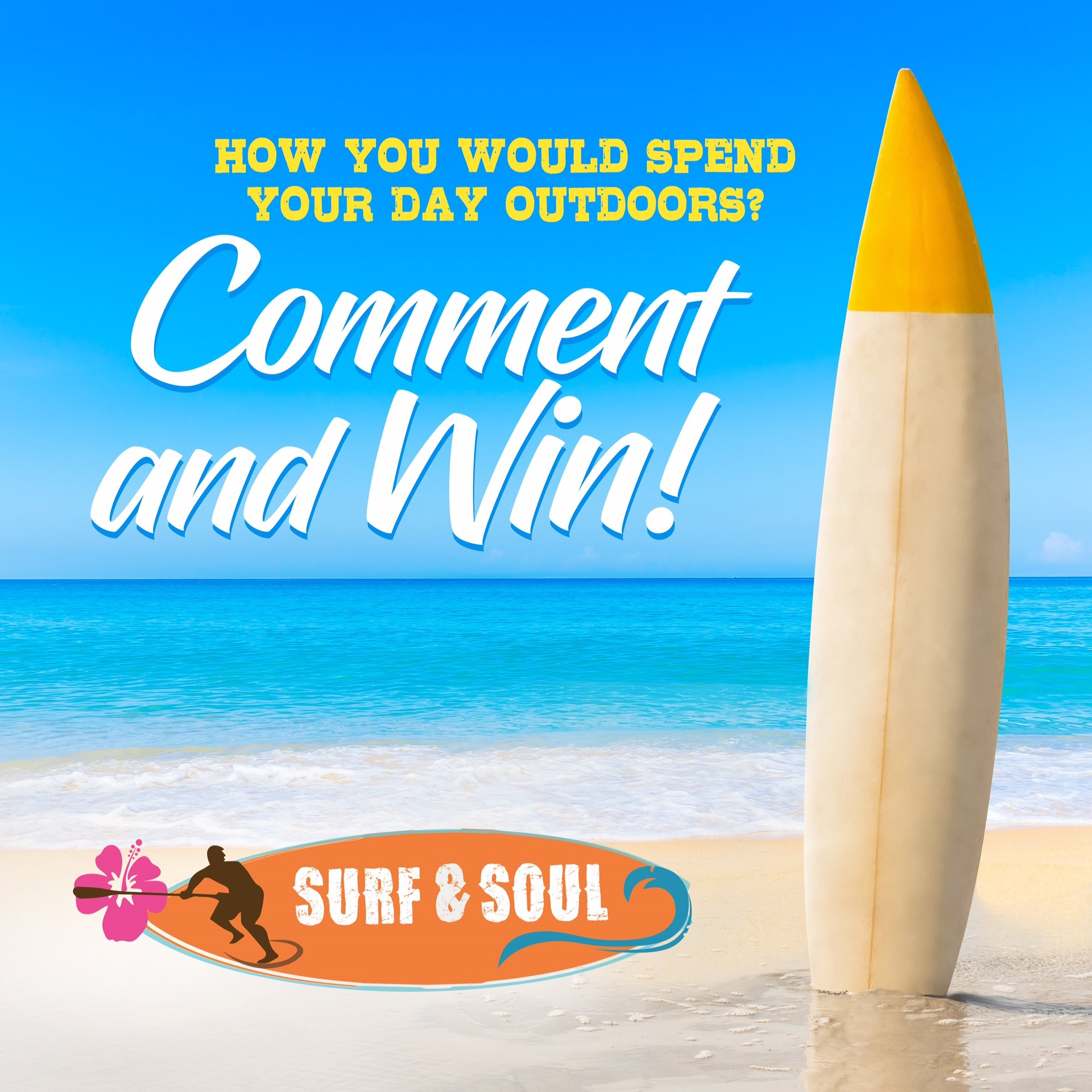 Win FREE Access To Stand Up Paddle Classes With Your Partner From Surf And Soul