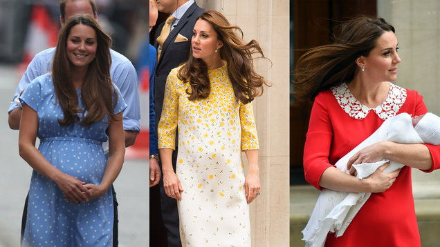 How Kate's Postnatal Style Has Evolved