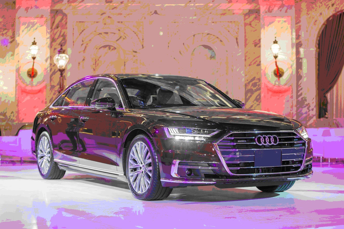 Premier Launch of the New Audi A8 in Qatar