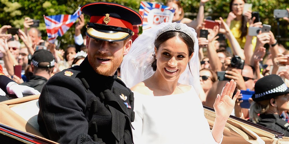Royal family thanks millions who celebrated Prince Harry, Duchess Meghan