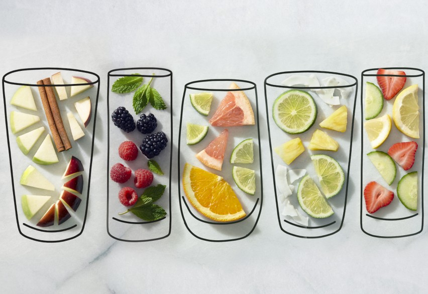 5 Beautiful Water Infused Recipes