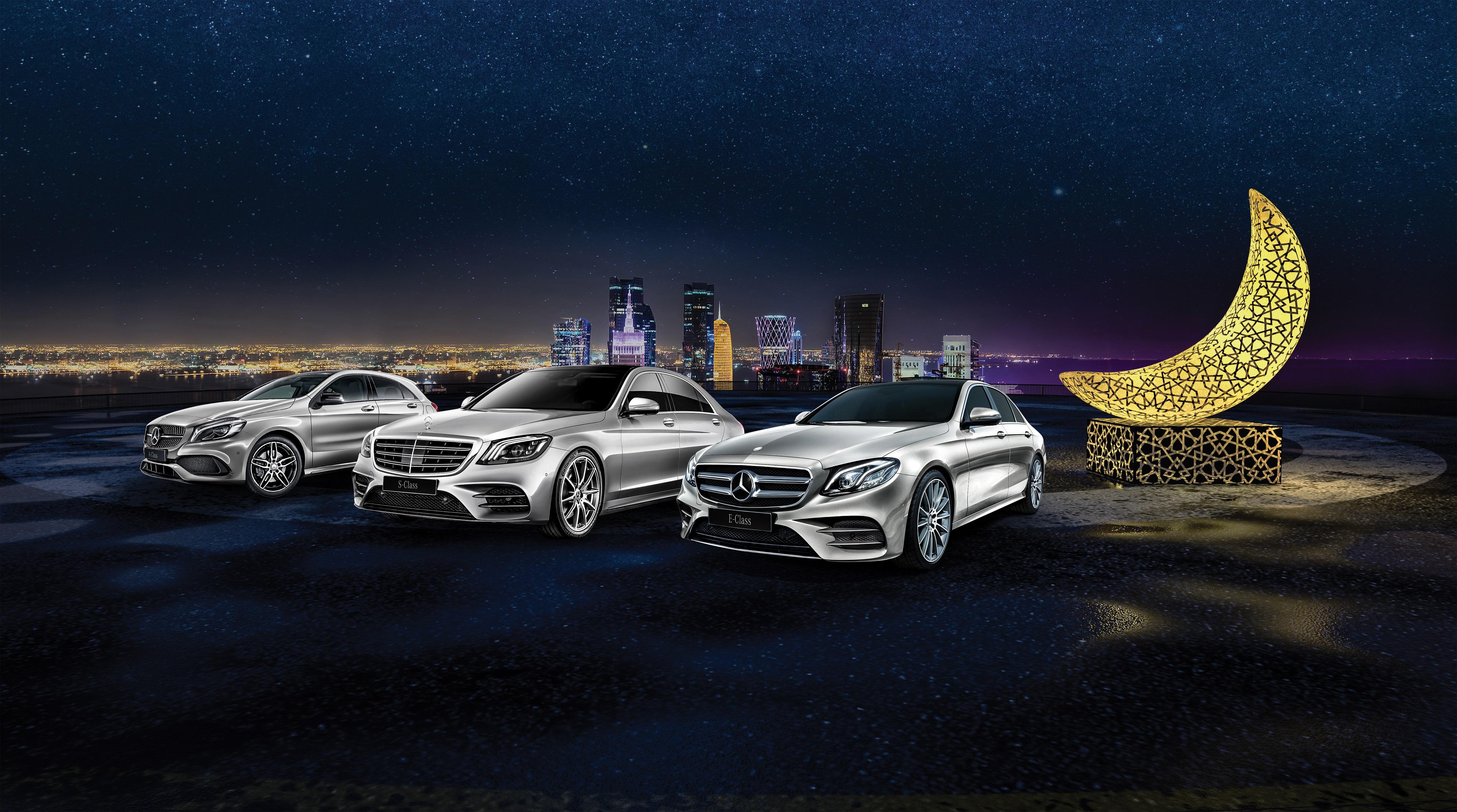 Nasser Bin Khaled Automobiles' Special Offer on Mercedes-Benz Cars this Ramadan